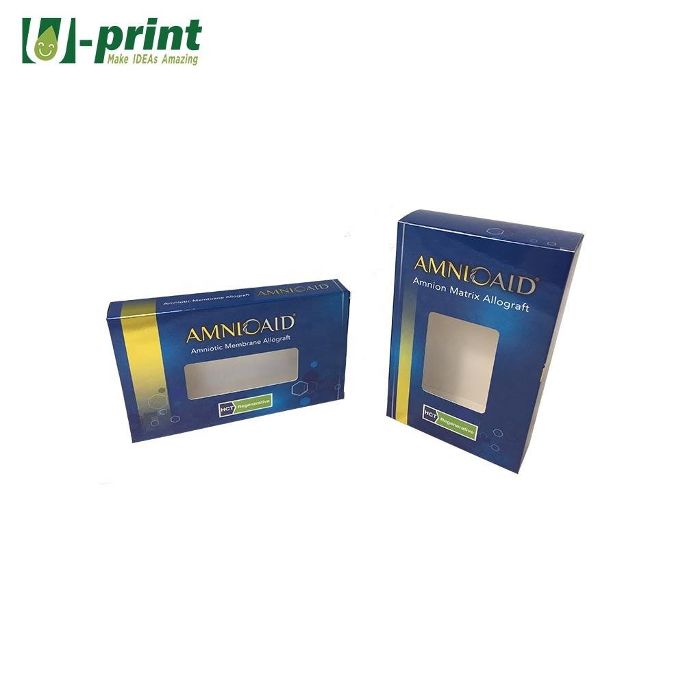 Custom Cardboard Box Packaging Boxes with PP Window