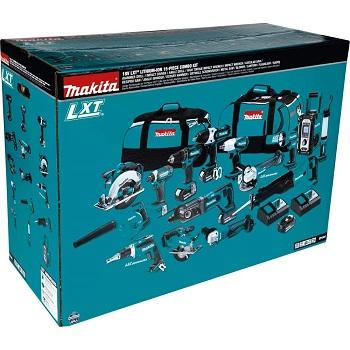 100% Originele Makitas LXT1500 18-Volt Lxt Lithium-Ion Accu 15 Stuk Combo Kit/Power Tool/Accuboormachine
