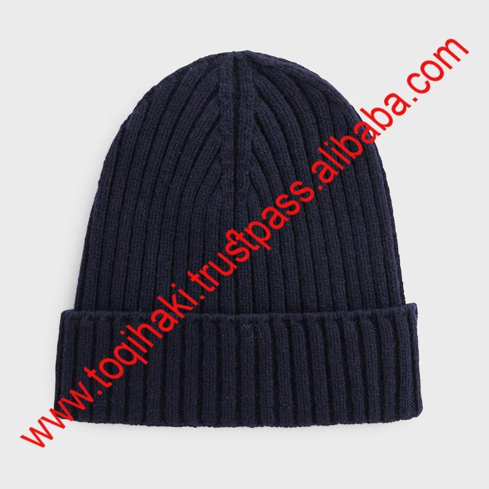 Fashionable cashmere wool Slouchy Beanie Hat/Cap
