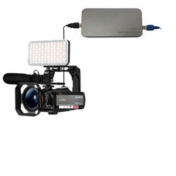Authentic Professional Live Streaming AC5 4K UHD Resolution Camcorder Match Accessories Video Camera