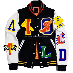 High Quality Custom Made Varsity Jacket/Letterman/baseball Jackets with Chenille patches/Embroidered Jacket