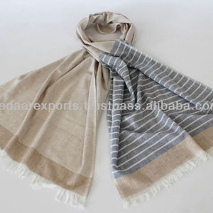 India Cotton Handwoven scarves