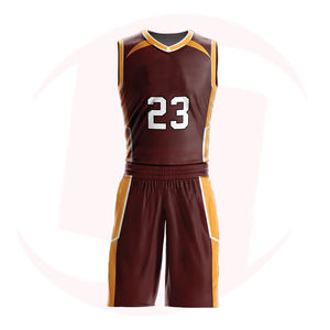 Nouveaux Uniformes De Basket-Ball De Conception de Basket-Ball Sublimé Par Kits Adulte Respirant basket-ball Jeunesse