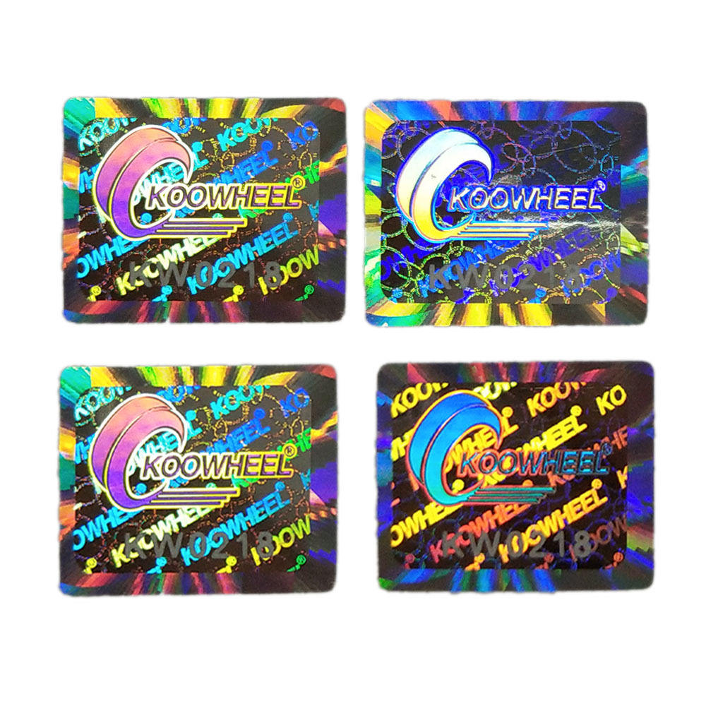 Manufacturer Custom Printing Label Holographic Sticker, Security Waterproof Self Adhesive Hologram Security Stickers