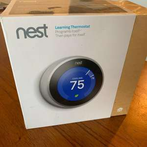 NEW, SEALED! Nest Learning Thermostat T3007ES 3rd Generation