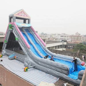 Slip N Long Water Slide Inflatable The City