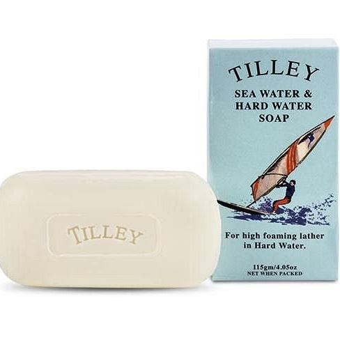 TILLEY Health & Specialty Soaps - Sea Water & Hard Water Soap - 115g