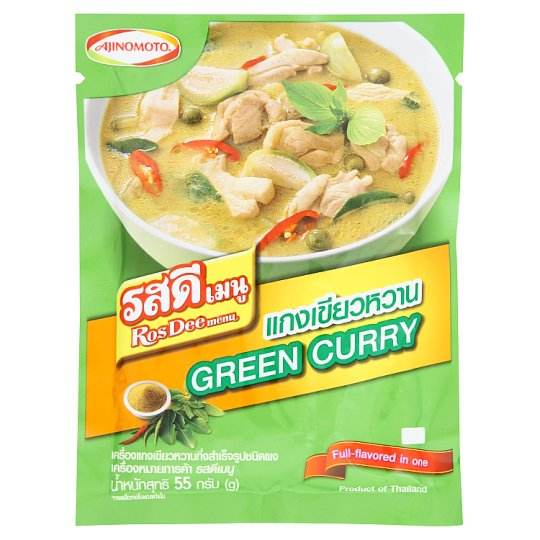 Ros Dee Menu Instant Green Curry Paste Powder 55 grams