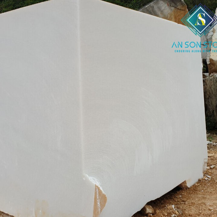 DIRECT FACTORY - MANUFACTURER OF WHITE MARBLE BLOCK - NATURAL STONE EXPORT FROM VIET NAM FOR FLOORING TILE