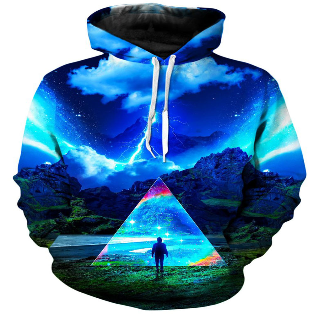 New Design Custom Made Men Sublimation Hoodie Good Quality Sublimated Printing Hooded