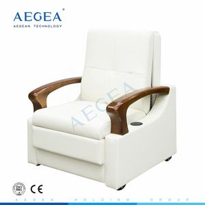 AG-AC013 Medical patient room electric hospital accompany chair bed