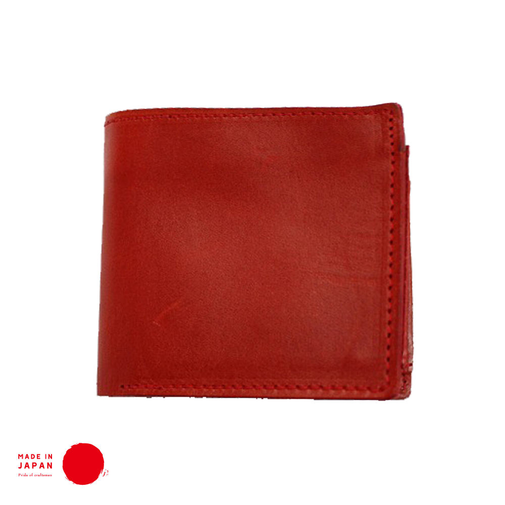 [COURO TOCHIGI] Bifold Carteira-Made in Japan
