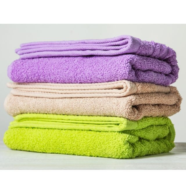 Thin Bath Towels