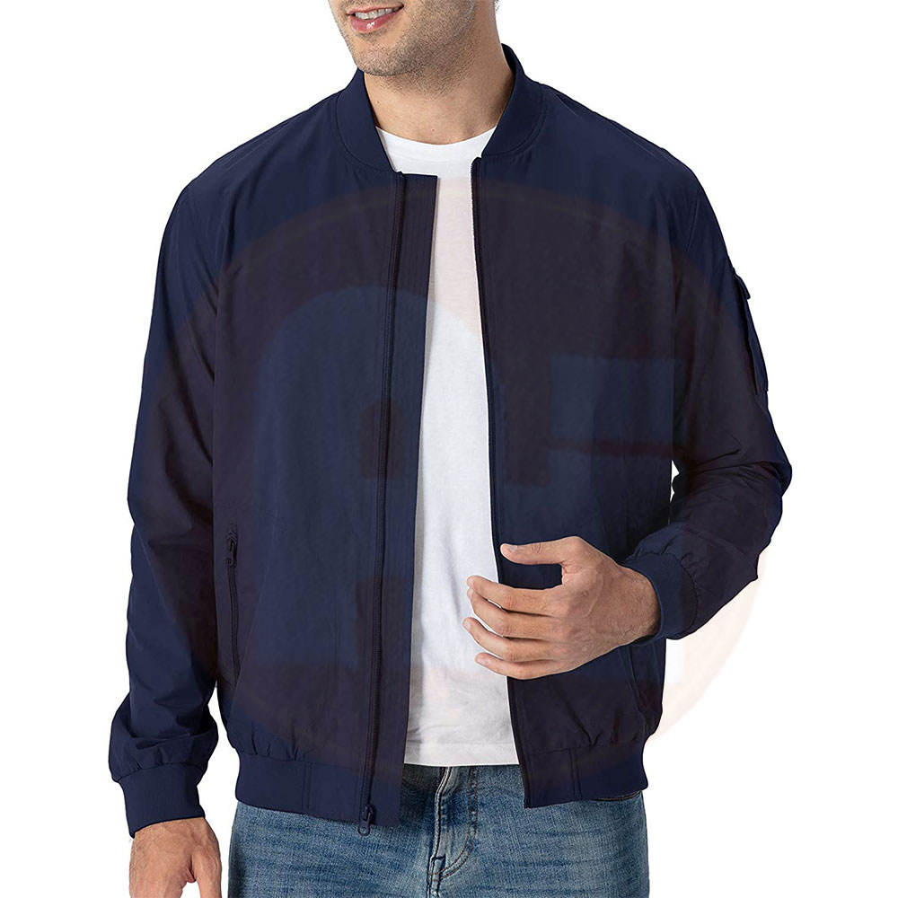 Wholesale Customized Bomber Jacket OEM Men's Jacket Autumn Plus Size Bomber Jacket