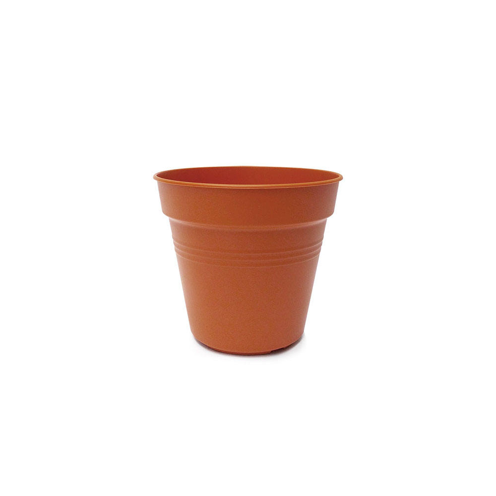 Malaysia Wholesaler Round Flower Pot Small Biodegradable Garden Pots Plastic Designed For Tall Plant Pots