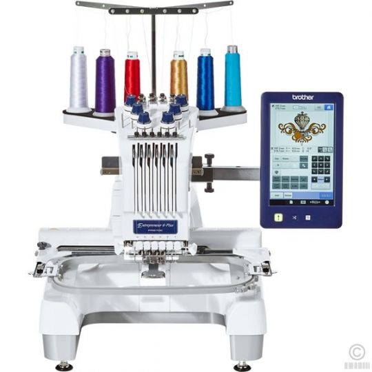 BUY 2 GET 1 FREE ORIGINAL Brother Entrepreneur 6-Plus PR670E | 6 Needle Embroidery Machine