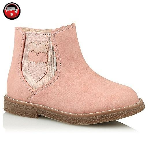 Pink Suede Baby Girl Chelsea Boots, Pretty Soft Light Weight Warm Girls Shoes, Winter Comfy Toddler shoe