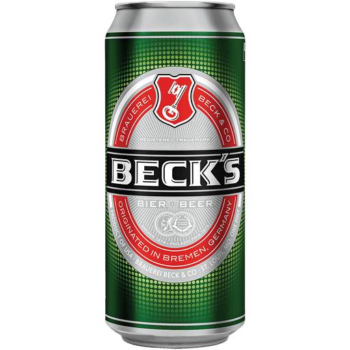 Becks Premium Lager Beer- 500ml