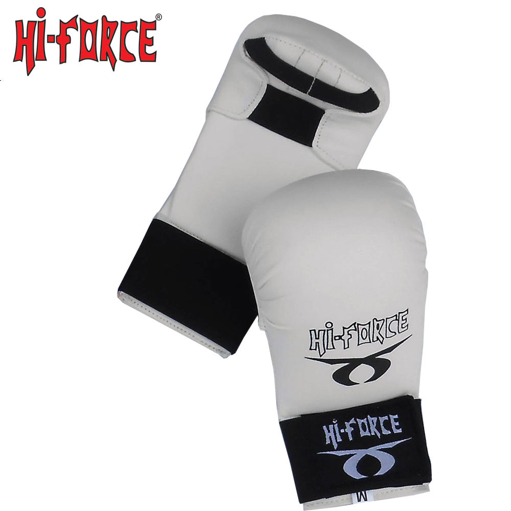 Wholesale martial arts High quality PU WKF Gloves Karate Mitts Training Protector