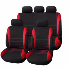 Universal car seat cover in PVC 9 pcs