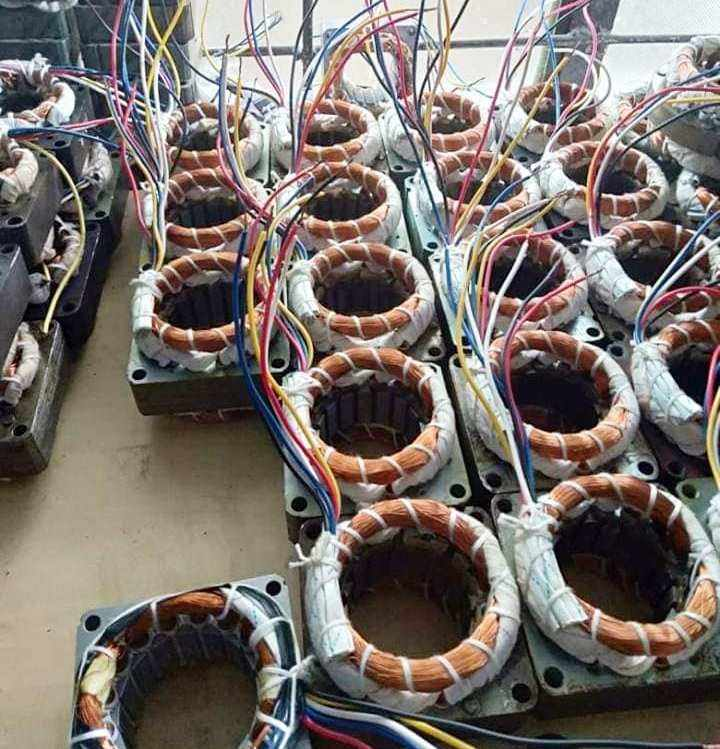 Mixed Used Electric Motor ,Alternators and Transformers Scrap for sale