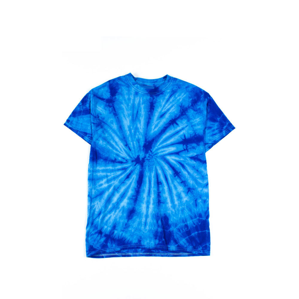Custom Printing 100% Cotton Men Bangkok Tie Dye T Shirt
