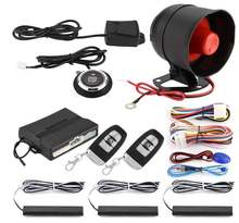 Smart Anti-hijacking  PKE  Keyless Entry Car Alarm System with One Touch Push Engine Start Button