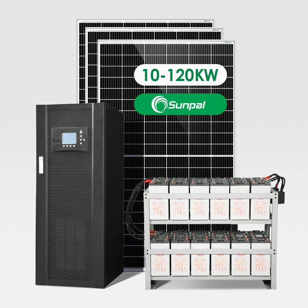 Off Grid Completo Batterie Sistema Solare <span class=keywords><strong>50KW</strong></span> 60KW 80KW 100KW 120KW Per Uso Domestico <span class=keywords><strong>Commerciale</strong></span>