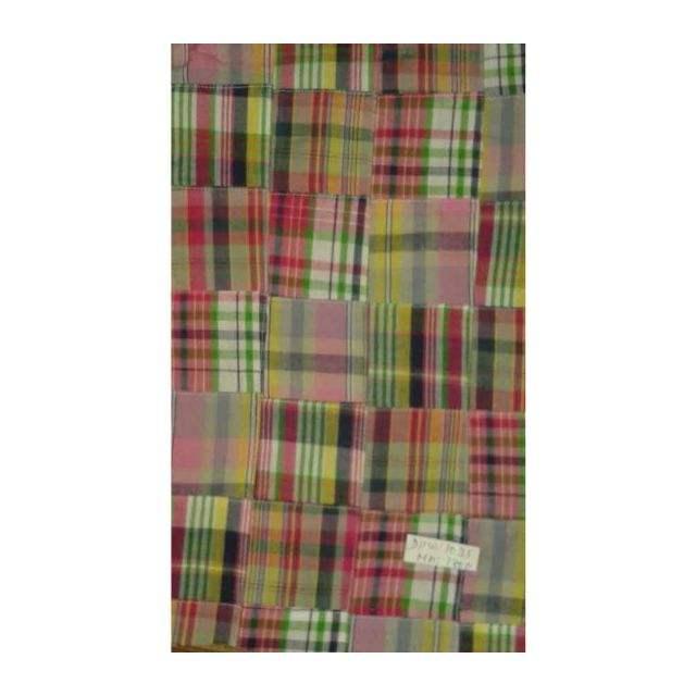 madras cotton patchwork fabrics textile