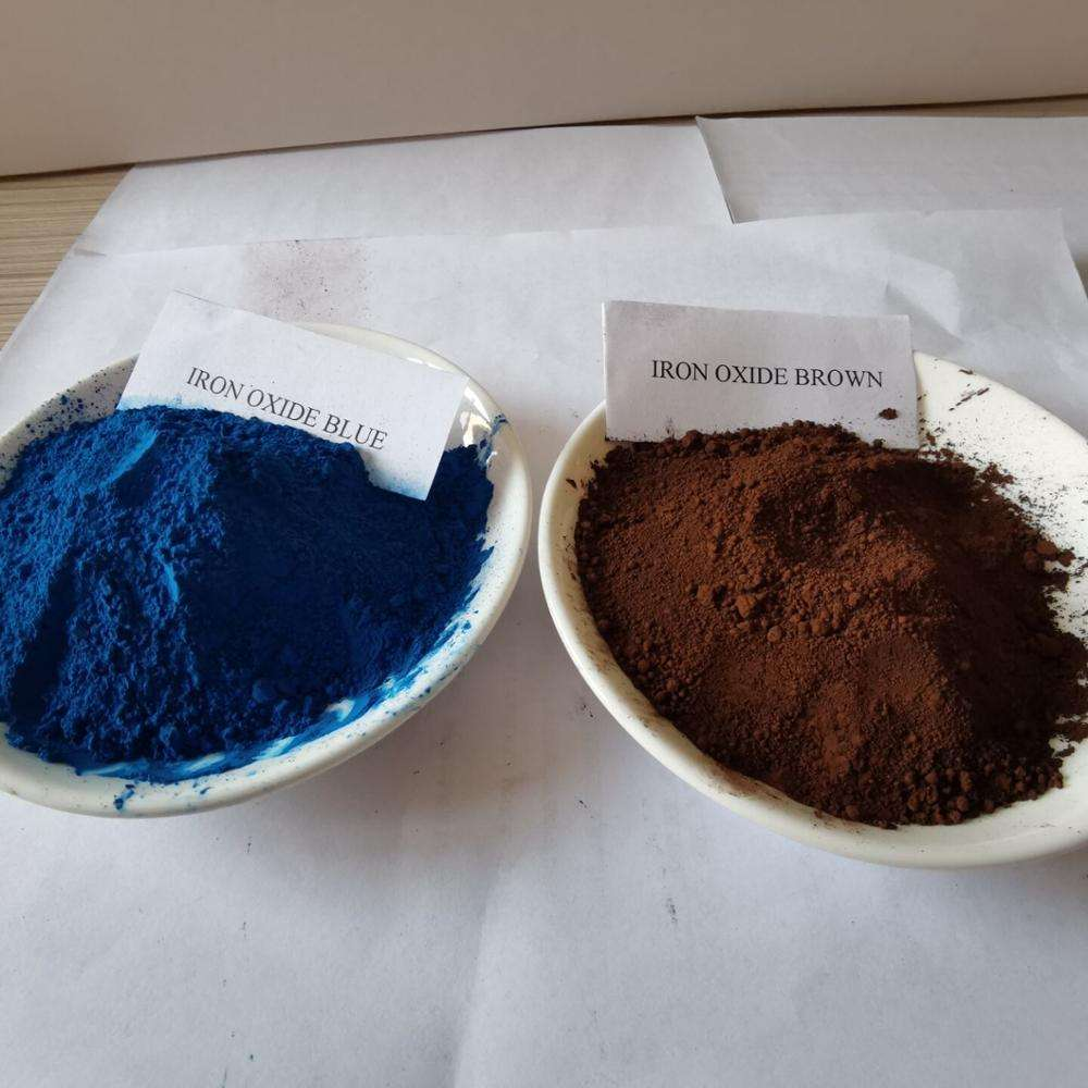 Iron oxide blue pigment Concrete coating agent 886