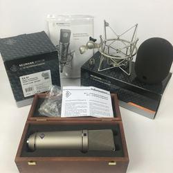 Hot Sell Valid Neumann U87ai Condenser Microphone Recording Microphone