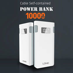 High quality 2020 portable mobile phone accessories 5v 2.1a mini 10000mah power bank
