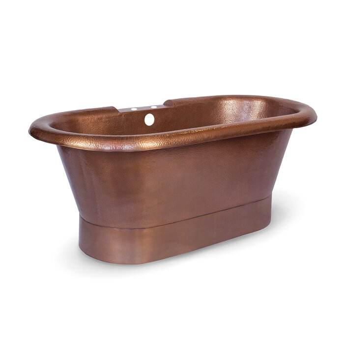 HOT SELLING AMAZON SHILA SOLID COPPER BATH TUB