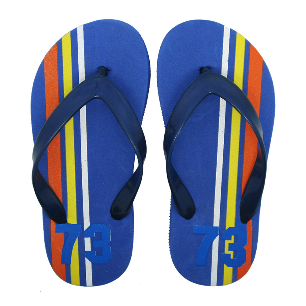 Customized Boys Summer Outdoor Printed EVA Flip Flops/Slippers