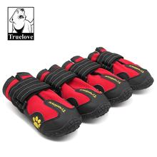 Truelove Boots Waterproof  Pet Shoes  For Dogs Booties  Summer Winter Fashion Dog Shoes