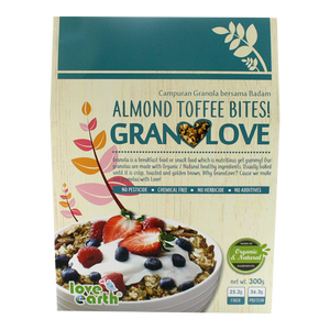 High Nutrition Almond Toffee Bite Granola