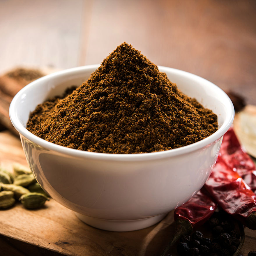 Natural Pure Indian Spices Blended Garam Masala Powder supplier