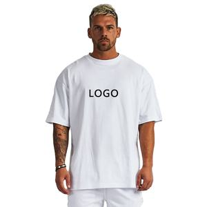 New design luxury quality cotton loose fit little drop shoulder brand blank men t shirt oversized