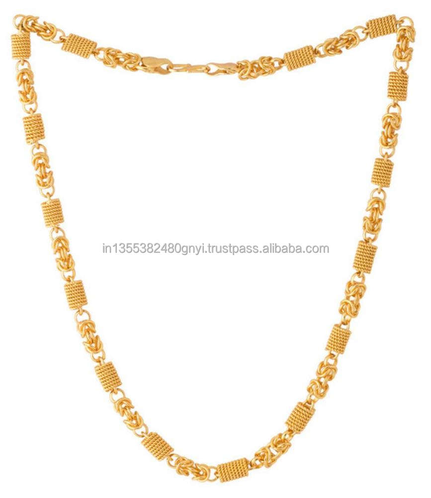 Designer Gold Plated Link Chains
