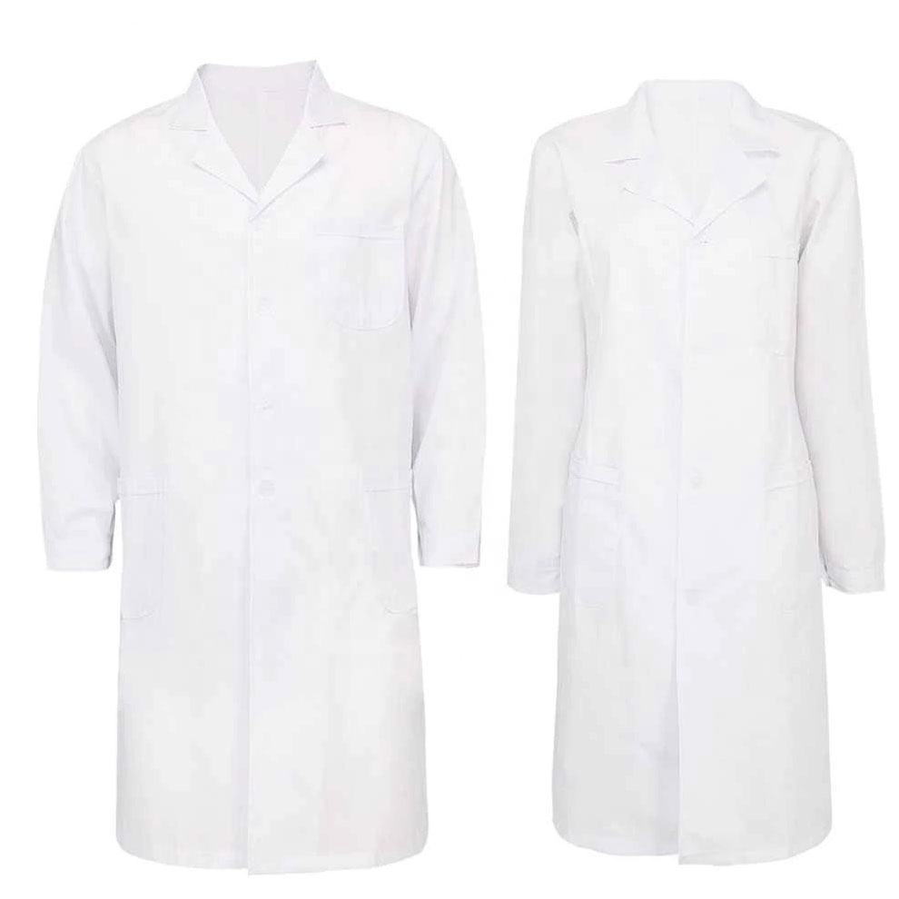 High Quality Doctor White Coat / Hospital Uniforms / Hospital 100% Cotton Doctor Coat
