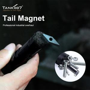 Tank007 USB rechargeable magnet 1000 lumens flashlights powerful torchlight waterproof flash light flashlight led magnetic torch