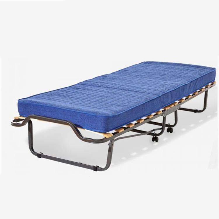 Qualità assicurano basso prezzo di trasporto pieghevole single pieghevole in metallo telaio del letto