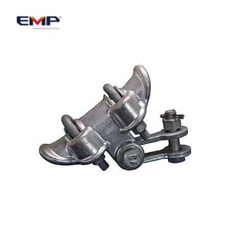 Galvanized Carbon Steel Applicable Conductor 5-7mm Clevis Suspension Clamps For Pole Line Hardware