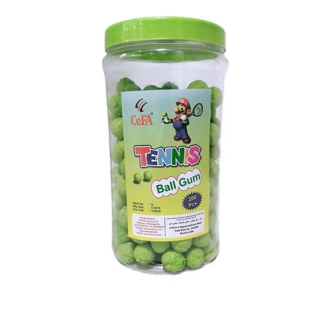 Cefa Tennis Ball Shaped Bubble Gum Exports at Best Price from Leading Brand