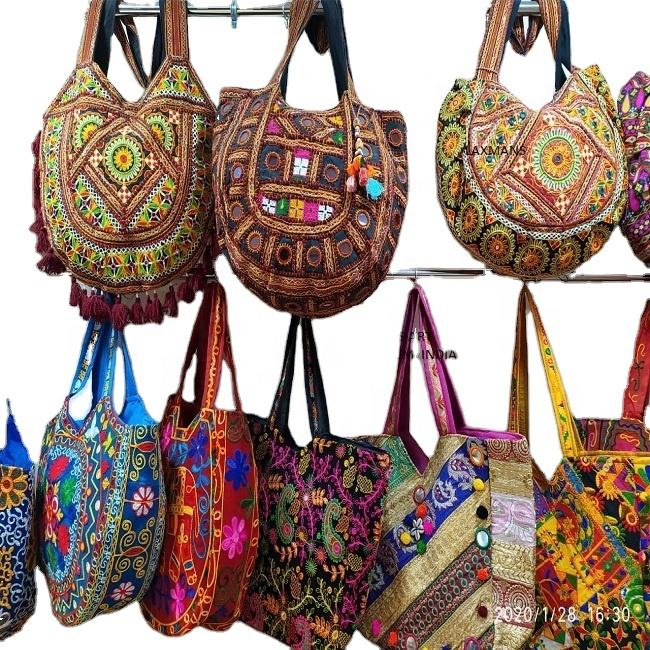 banjara patchwork tote bags from india