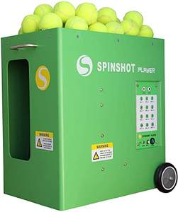 Free delivery for new Lobster Phenom 2 Club Mains Tennis Ball Machine and Remotes