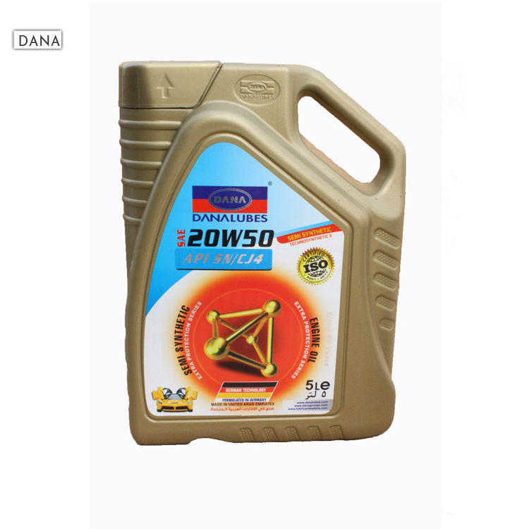 20W40 Semi Synthetic Automotive Gasoline Engine Oil Manufacturer in UAE