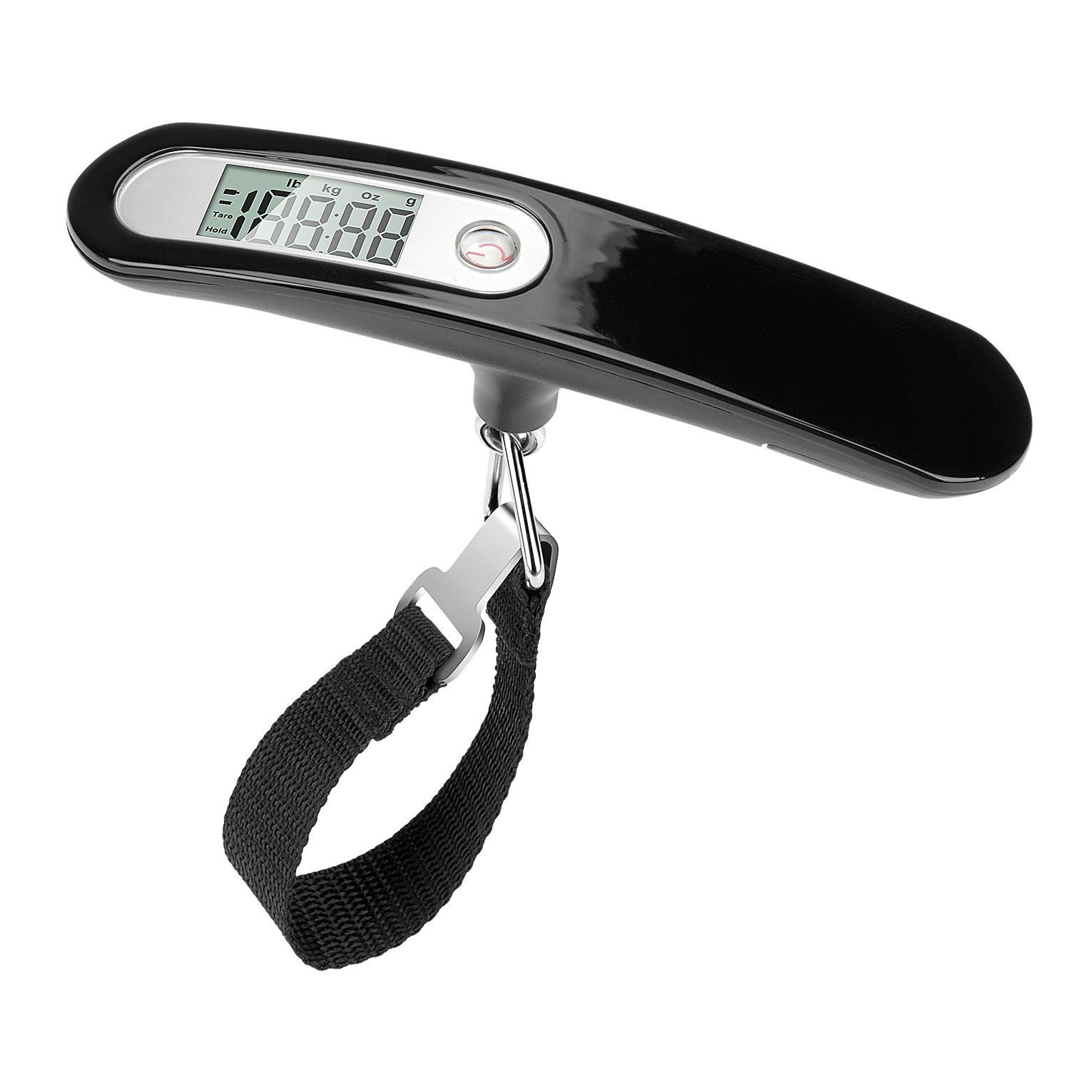 110lbs Travel Portable Digital Luggage Scale UV Varnishing Surface