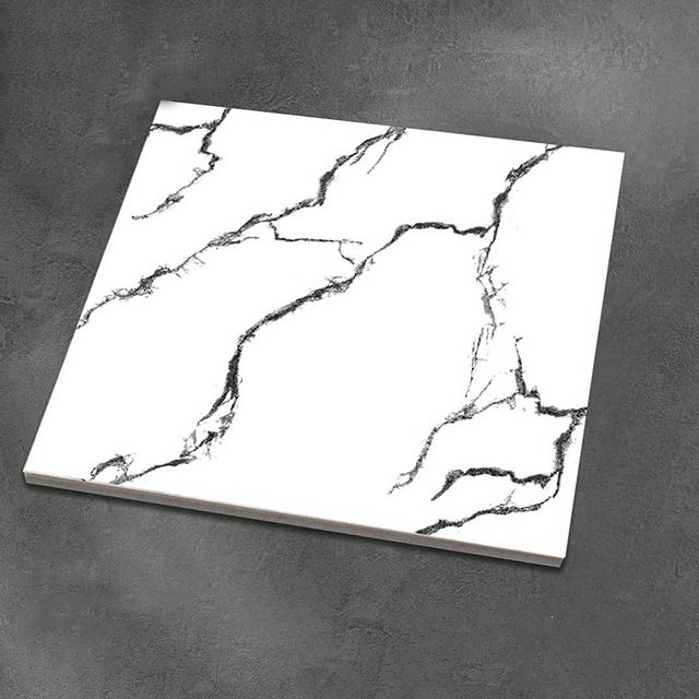 600x600 Floor Tiles Porcelain White statuario Marble Ceramic tiles