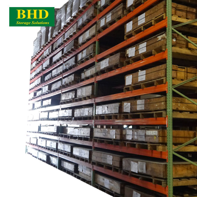 Customized Service Low Cost TearDrop Steel Pallet Rack Manufacturer and Supplier in Da Nang Vietnam
